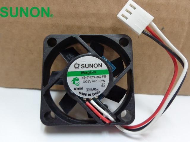 все цены на  SUNON cooling fan  ME40100V1-0000-F99 5V 1.08W  3 -wire speed fan 40*10*10MM  онлайн