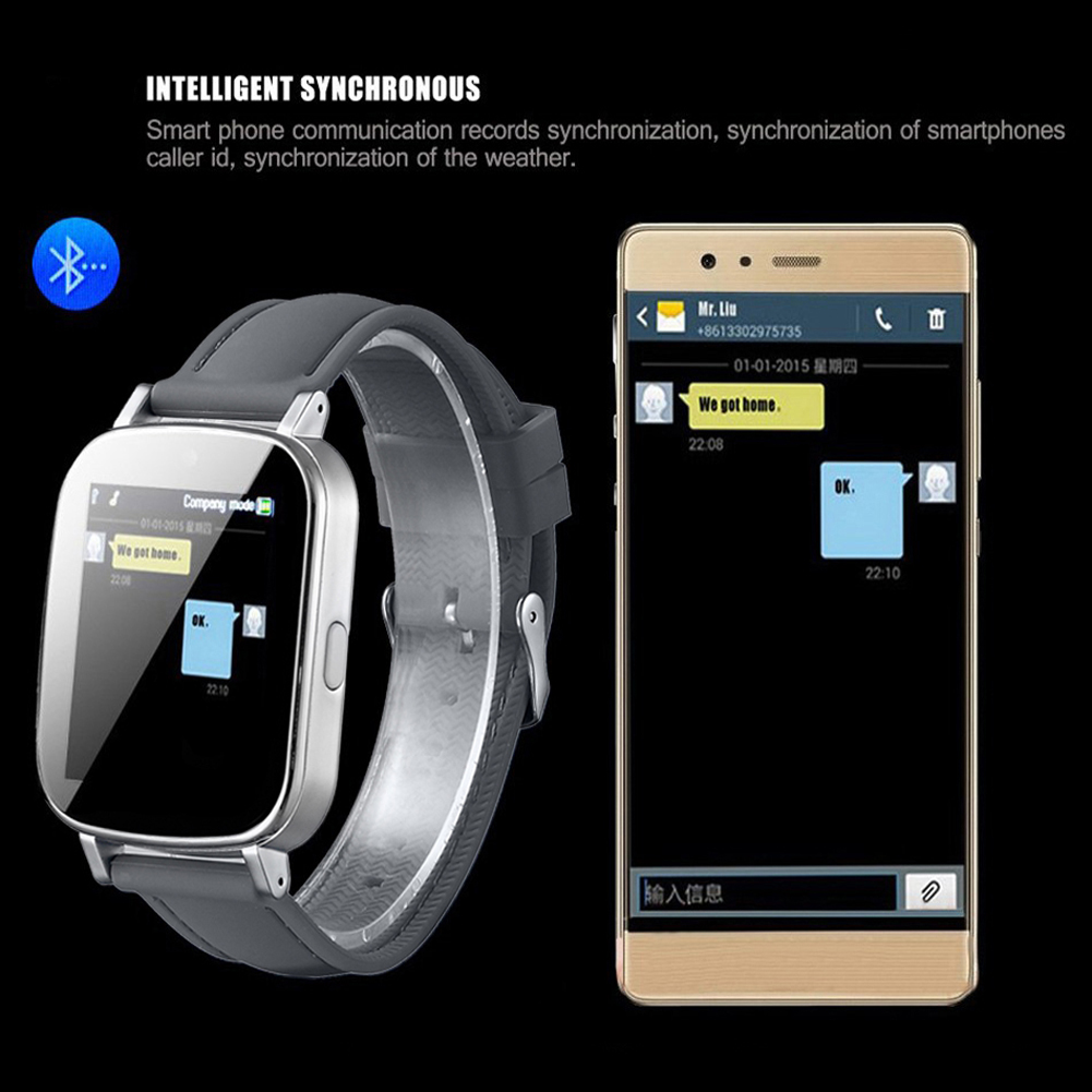 Smartwatch Z9 Bluetooth Wristwatch for iPhone 6 6Plus IOS Android Phone Intellig