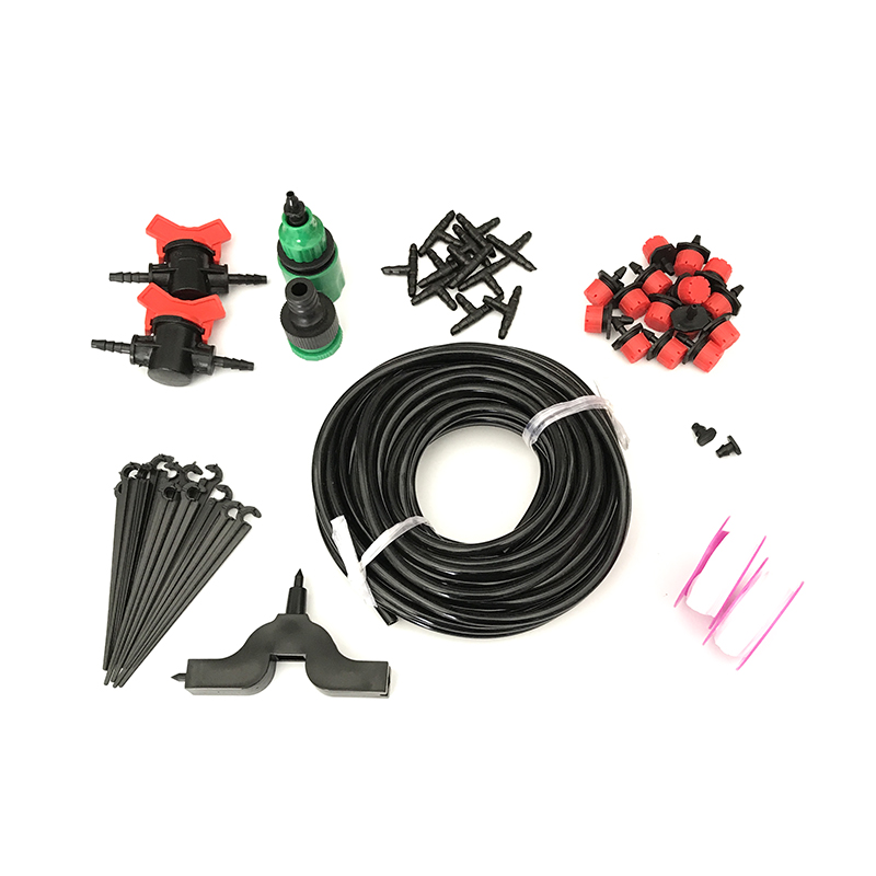 5M/15M/25M 4/7 mm Garden Watering Irrigation Kit 4/7mm Hose Controllable Switch Plant Automatic Self Watering Kit