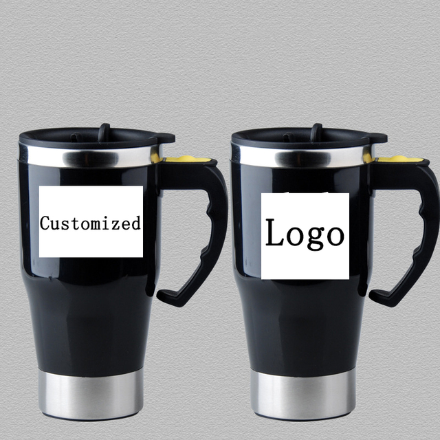 Self Stirring Mug Stainless Steel Double Wall  1