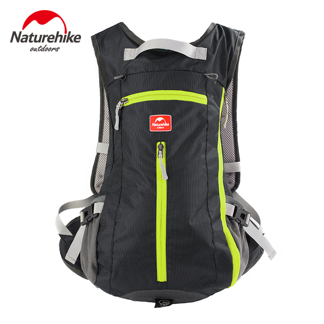 NatureHike Factory 15L Waterproof Backpack ultralight Rucksack Cycling Camping Climbing Hiking travel bag with Helmet net cover