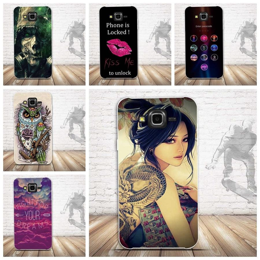 Samsung Galaxy J7 2015 Case- ի համար, 3D Relief Painting Soft - Բջջային հեռախոսի պարագաներ և պահեստամասեր - Լուսանկար 1