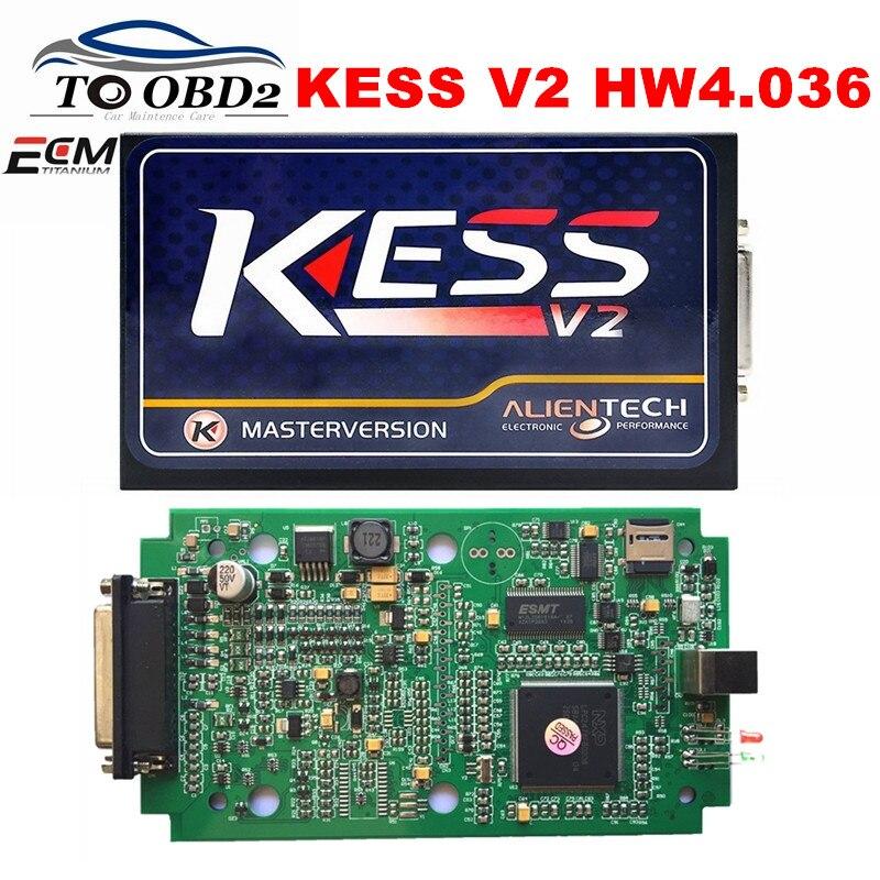 Цена за KESS V2 V2.32 FW 4.036 K Комната OBD2 Менеджер Тюнинг-Комплекты 6 Язык Авто ЭКЮ Программирования Интерфейс KESS 2.32 DHL БЕСПЛАТНО ДОСТАВКА