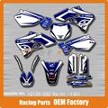 Customized Team Graphics & Backgrounds Decals 3M Stickers YZ YZ125 YZ250 96 97 98 99 00 01 MX Enduro Motard