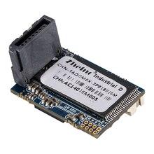 Zheino Новый SATA3 16 ГБ DOM SSD промышленные диск на модуле SATAIII 6 ГБ/сек. 7 контакты вертикальный (правый угол) 180 градусов MLC DOM