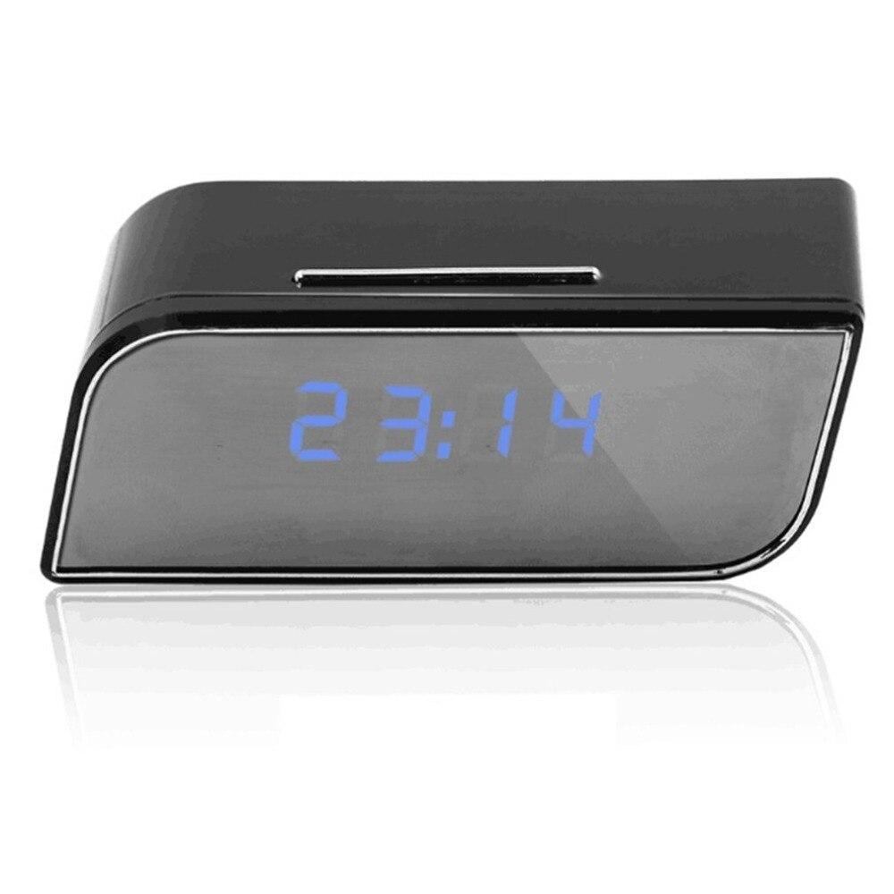 Mini Câmera 1080 HD Relógio Alarme de Detecção de Movimento de Visão Noturna IP Wifi Cam DV DVR Câmara de Vídeo Vigilância de Segurança Em Casa