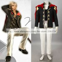 Anime Final Fantasy Type 0 Nine Cosplay Costume Male Cosplay Men clothes Halloween Costumes Party Costumes