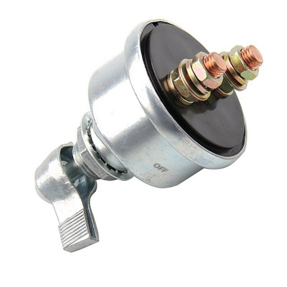 Auto <font><b>Battery</b></font> Ignition Switch <font><b>Car</b></font> Isolation Switch 12V Manual Fast Cut Off Power <font><b>Battery</b></font> Switch Ignition Starter <font><b>Car</b></font> Accessories image
