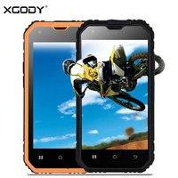 Xgody Wstrząsoodporny Smartphone 4.5 ''qHD G14 1 GB RAM 8 GB ROM Android 6.0 GPS Szkło Gorilla 2SIM Wodoodporna 3G Odblokowane Telefony komórkowe