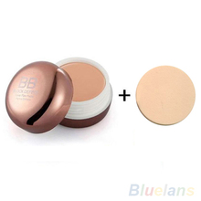 2016 Blemish Hide BB Cream Beauty Makeup Cosmetic Foundation Concealer + Powder Puff