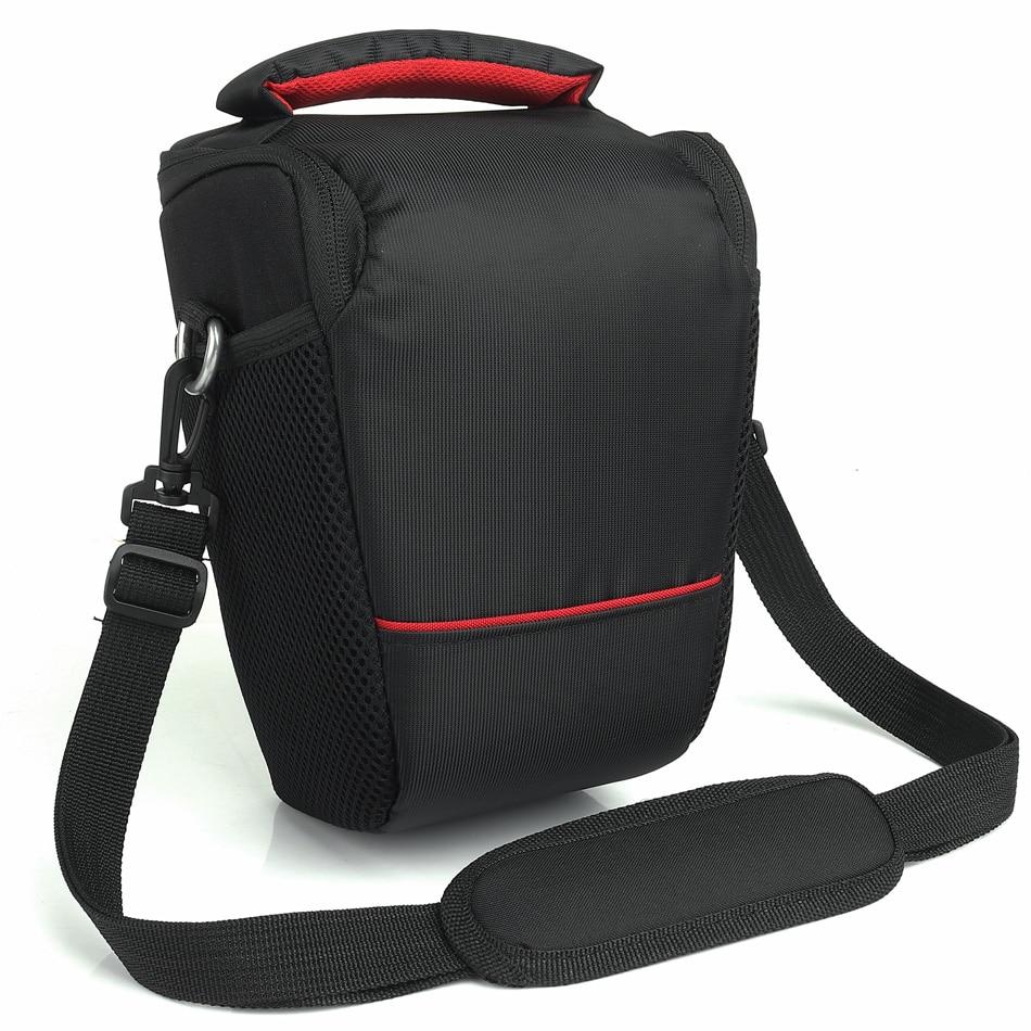 Venta caliente DSLR Cámara bolsa para Canon 1300D 200D 70D 77D 750D 6D 1100D 100D 700D 80D T6 T5 caja de la cámara Canon lente hombro