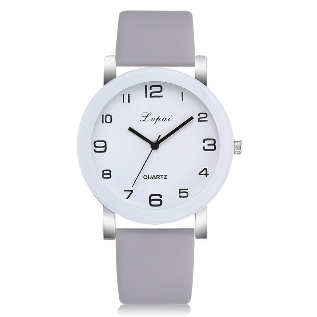 Gray Quartz Watch