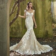 Vivian's Bridal 2018 Magical Mermaid Wedding Dress Backless