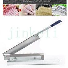 Машина для резки замороженного мяса, куриных ножек, рыбок, костей, трав, ribbonfish, ect гильотинной резки