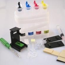 Цветение DIY 4 цвета СНПЧ системы аксессуары для 121 чернильный картридж Deskjet F4283 F2423 F2483 F2493 F4213 F4275 F4283 F4583 печать