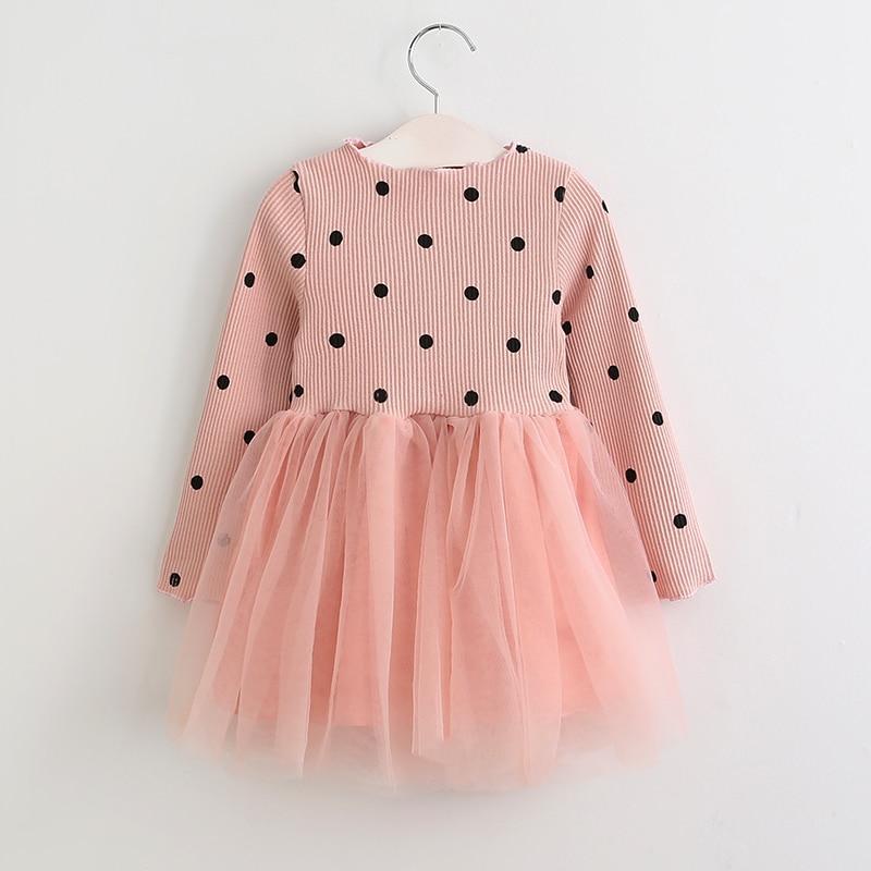 Bear Leader Girls Dress Princess Dress 2017 Brand Girls Dress Children Clothing Ball Gown Dot Print Kids Clothes Girls Dresses