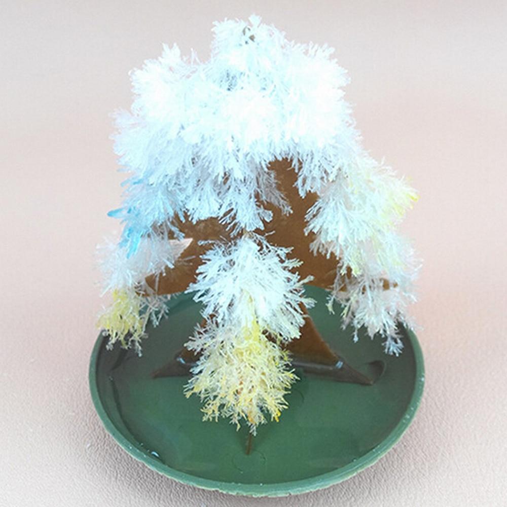 2019 9x6 см, разные цвета, магическое растущее бумага елка игрушечная Магический Рост с рождественской елкой, забавные детские развивающие нау...