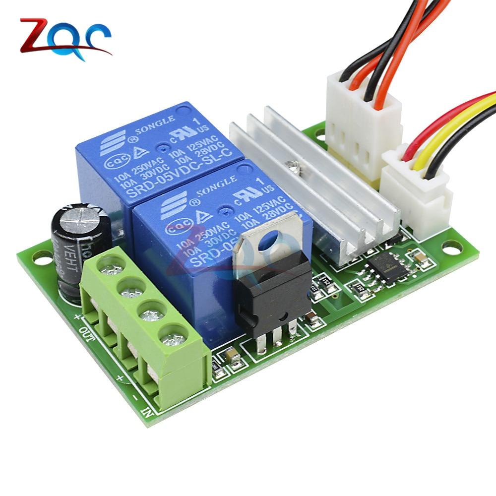 Buy Dc 12v 24v 3a 21khz Pwm Motor Speed Control Using Relay Regulator Controller Adjustable Reversible Module 6v 28v 1203bs From