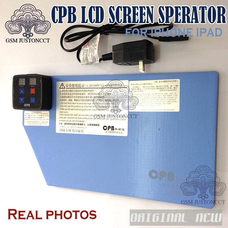 NEW CPB Mobile Phone Lcd Screen Repair Kits Separating Tool Open Screen Separator Heating Pad For Phone And Ipad Open Tool Mat