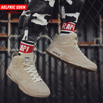Aelfric Eden Thick Skateboard Shoes Winter Warm Sneakers High Top Men Hip Hop Ankle Boots Active Basket Casual Footwear Ae037