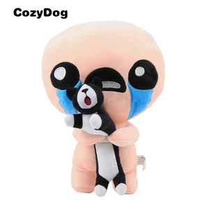 30 CM Game The Binding of Isaac Afterbirth Rebirth Plush Toy Figure Isaac with Guppy Cat Soft Stuffed Plush Toys for Children(China)