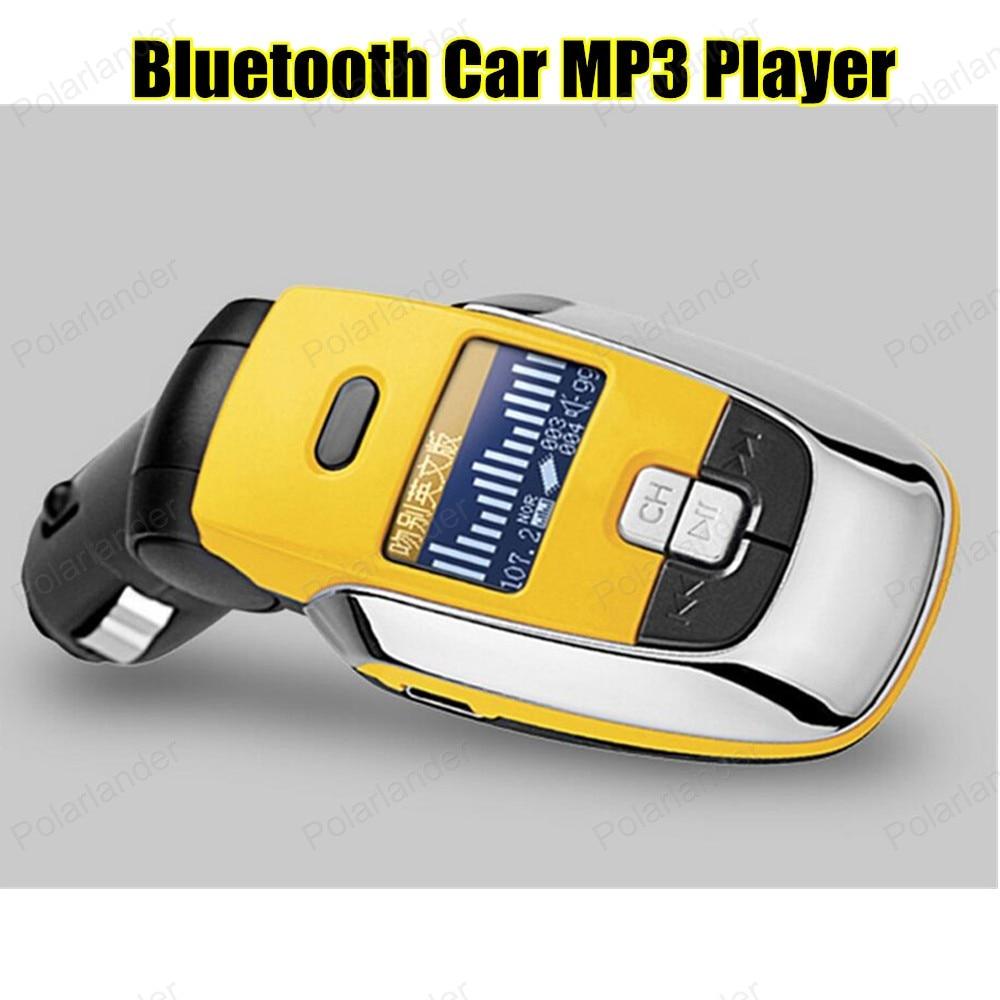 New Sale Car MP3 PlayerBluetooth FM transmitter audio with remote control modulator FM Car Handsfree LCD screen