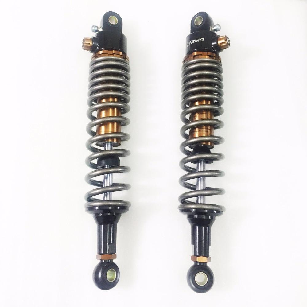 360mm 365mm 370mm 375mm 380mm 390mm 8mm spring Motorcycle air Shocks Absorbers for kawasaki Yamaha Banshee