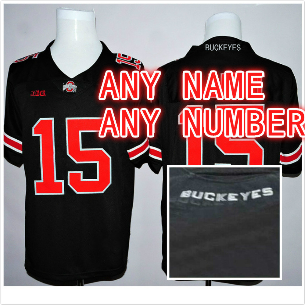 ... customized stitched personalized ohio state buckeyes jerseys red white  grey black college football jerseys for men 491e937e4