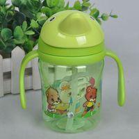детка дельфин малыш соломы чашки с ручками воды дети учатся питьевой воды чашки 380 мл