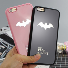 Batman Silicone Soft Rubber Phone Case Cover For iPhone