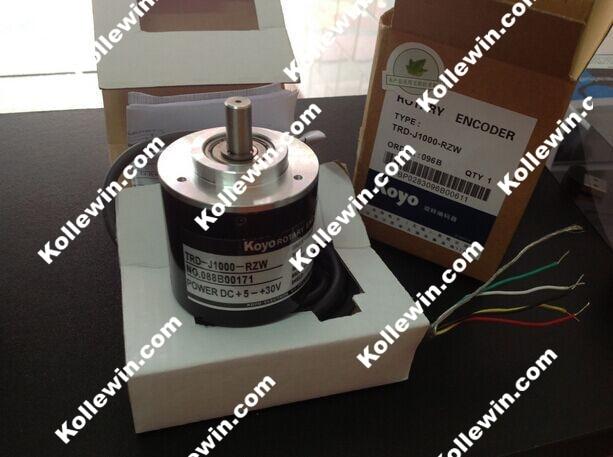 KOYO TRD-J1000-RZW 1000P/R Photoelectric Incremental Rotary Encoder, 1000PPR TRDJ1000RZW цены