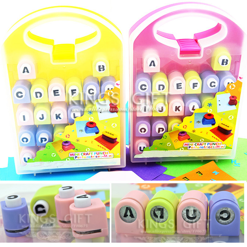 A ~ Z alfabet Craft Punch, creatief papier Punch Set hoofdletter - Kunsten, ambachten en naaien