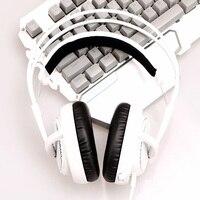 Steelseries Siberia V2 200 White Gaming Headphone Noise Isolating Game Headphones Headset For Gamer