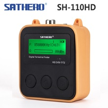 [Genuine] Sathero Sh SH 110HD DVB T DVB T2 Tasca Digitale Terrestre Finder LCD di Sostegno Dello Schermo di QPSK Segnale DVB T2 Tester Digitale
