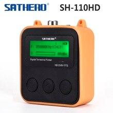 [حقيقية] Sathero SH 110HD dvb t DVB T2 جيب الرقمية الأرضية مكتشف LCD حامل شاشة QPSK DVB T2 إشارة الرقمية متر