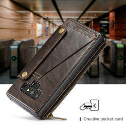 For Samsung note 9 CaseMe Leather Phone Case For iPhone 6 8 Leather Wallet Card Slots Stand Cover For iPhone X Case iPhone 7 5
