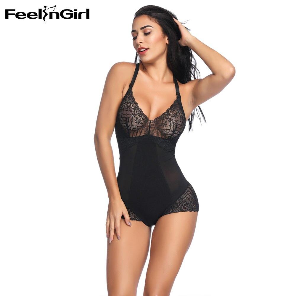 51c262af7204b FeelinGirl Drop Shipping Women Lingerie Lace Backless Dress Postpartum Slimming  Shapewear Body Shaper High Quality Underwear E-in Bodysuits from Underwear  ...