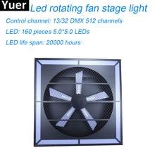 Yeni 120W LED Süper Whirlwind Sahne Etkisi Işık 1M * 1M 13/32 DMX 512 kanallar parti ışığı lazer Disko Sahne Etkisi Aydınlatma