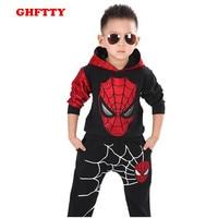 Boy Sets 2015 Autumn Children S Clothing Original Single Korean Cotton Two Piece Boys Spiderman