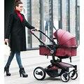 2em1 alta paisagem two-way amortecedores carrinho de bebê pode se sentar sob as peles russin frete grátis