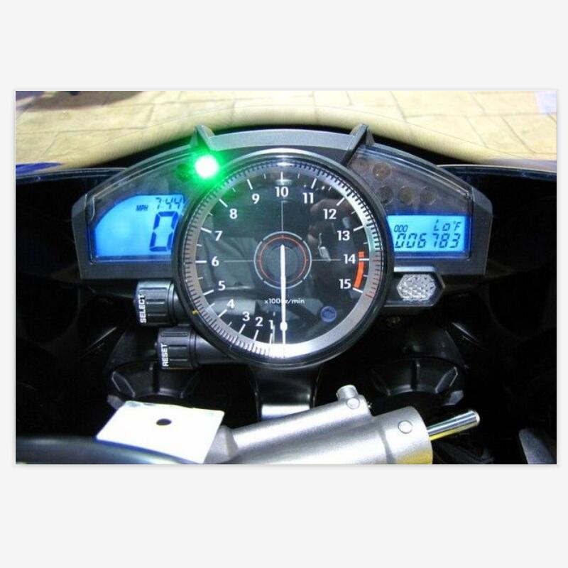 NICECNC Motorcycle Speedometer Instrument Cover Shell Gauge Case Housing For Yamaha R1 YZF-R1 YZFR1 2007 2008 YZF R1 Durable ABS image