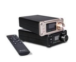 2018 SMSL SA-50 плюс аудио усилитель TAS5766M 2,1 AUX HiFi Цифровые усилители портативный мини USB дома Мощность усилитель