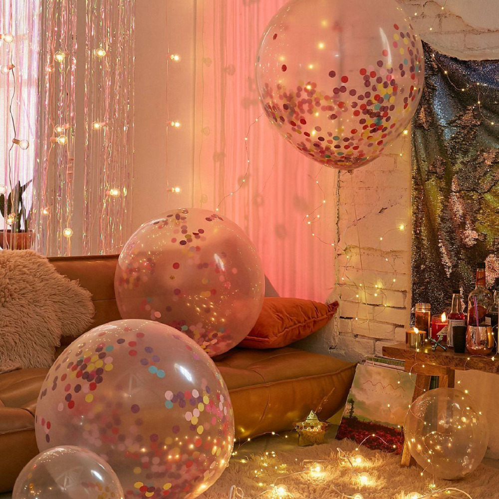 QIFU Rose Gold Foil Balloons Air Wedding Ballon Helium Balloon Happy Birthday Party Decoration Kids Baloon Balon Balls Number in Ballons Accessories from Home Garden