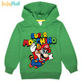 Jiuhehall New Cartoon Style Boy Girl Casual Hooded Hoodies Fashion Long Sleeve Children Sweatshirts 3-7 Ages Kids Costume FCM054