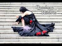 New Arrival Pandora Hearts B rabbit Alice Black Dress Cosplay Costume Any Size