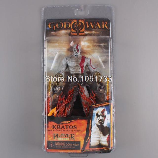 """NECA God of War Kratos in Ares Armor Blades PVC Action Figure Toy 7""""18cm High Quality"""