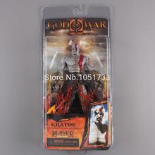 "NECA God of War Kratos in Ares Armor Blades PVC Action Figure Toy 7""18cm High Quality"