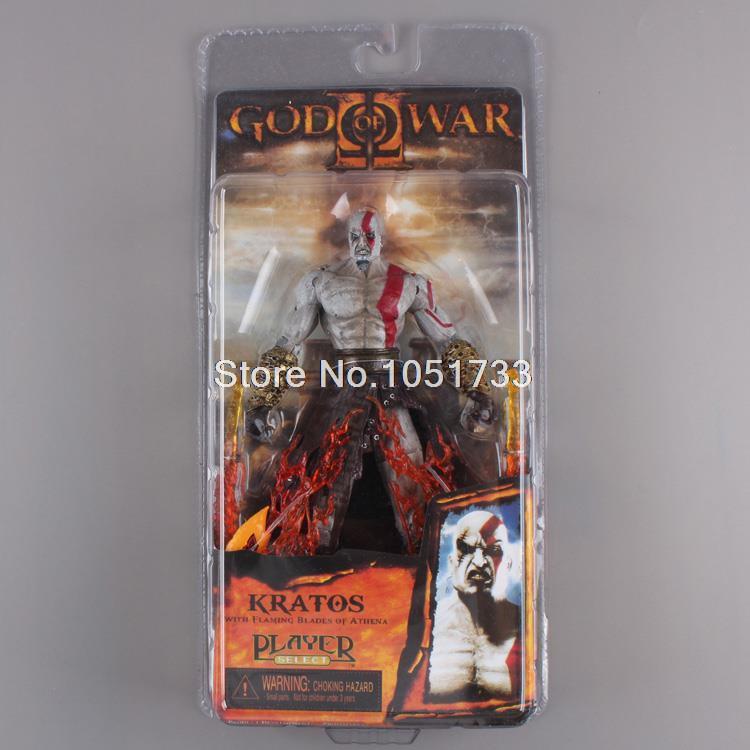 "NECA <font><b>God</b></font> <font><b>of</b></font> <font><b>War</b></font> <font><b>Kratos</b></font> in Ares Armor Blades PVC <font><b>Action</b></font> <font><b>Figure</b></font> Toy 7""18cm High Quality"
