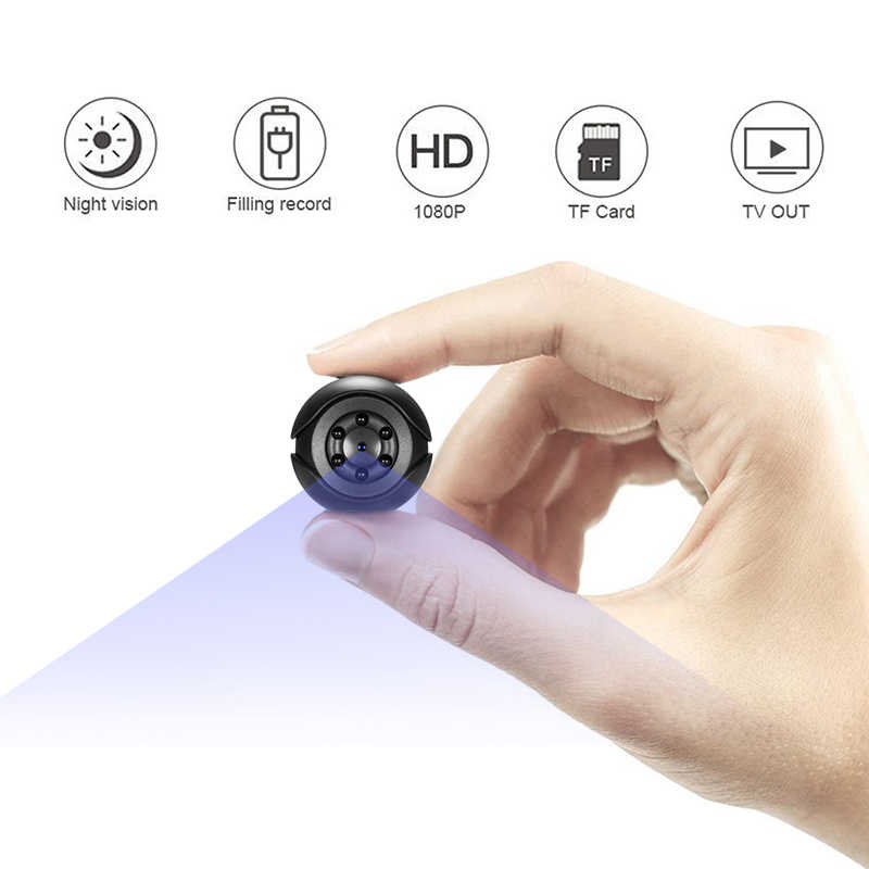 SQ6 Mini Camera 1080P Sensor Portable Security Camcorder small cam Night Vision Motion Detection Support Hidden TF card pk sq 9