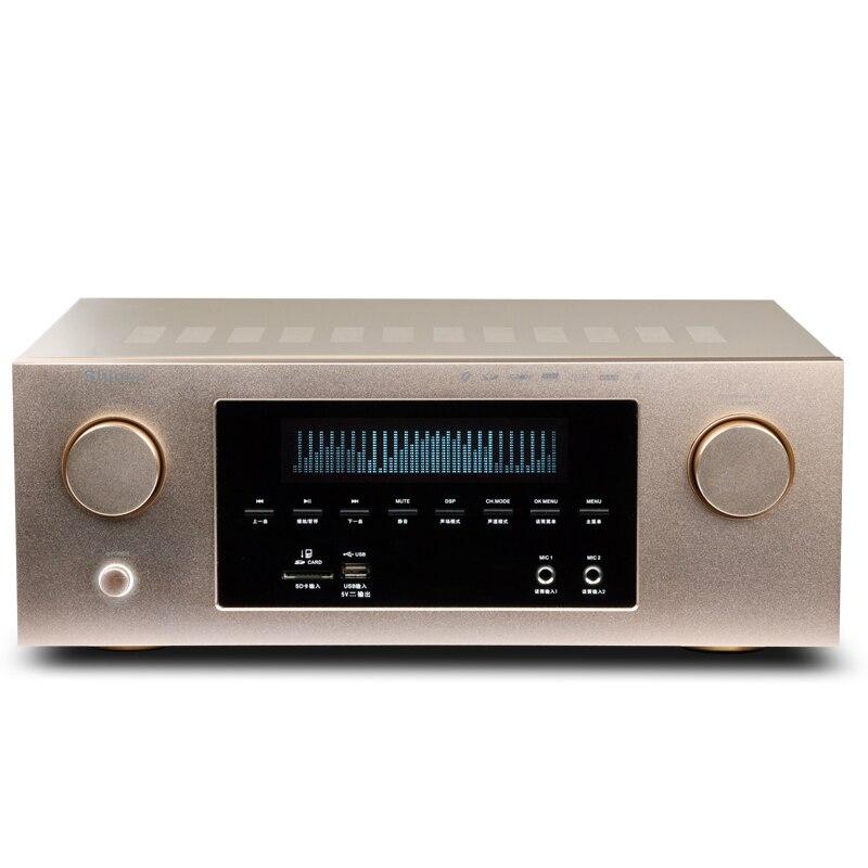 X-HD lossless decodifica 300 W 5.1 home theater digitale Bluetooth HIFI amplificatore ad alta potenza